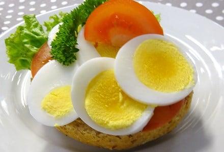 rundstykke egg